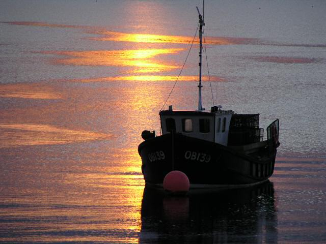 Fishing boat at Bunessan