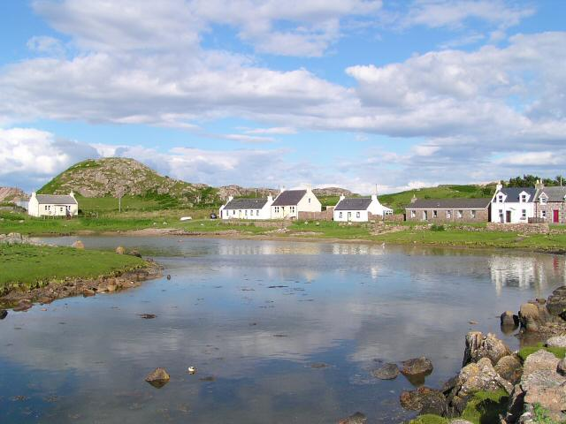 Kintra (former fishing village near Fionnphort)