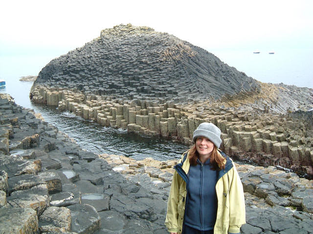 Staffa: Basalt columns known as The Shepherd