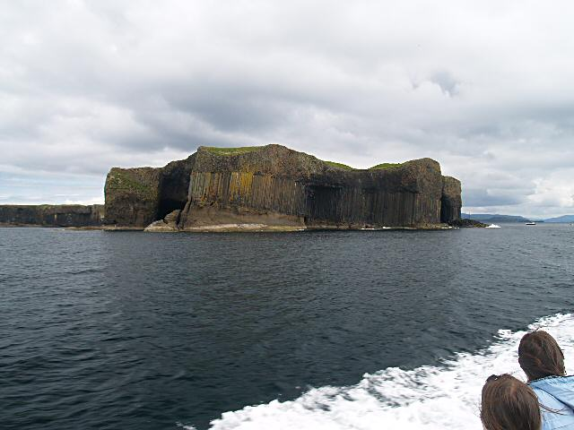 Staffa: Leaving Staffa